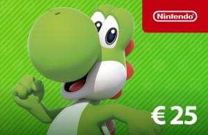 Nintendo eShop Guthaben 25 €