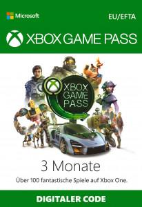 XBOX Games Pass 3 Monate