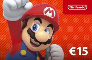 Nintendo eShop Guthaben 15 €