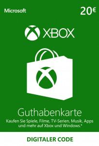 XBOX Guthaben 20 €