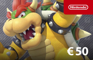 Nintendo eShop Guthaben 50 €